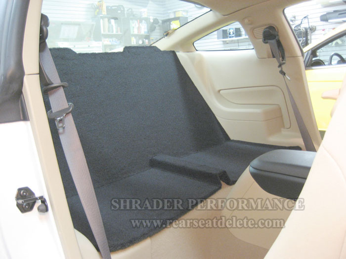 2005 2014 Ford Mustang Coupe Rear Seat Delete Shrader