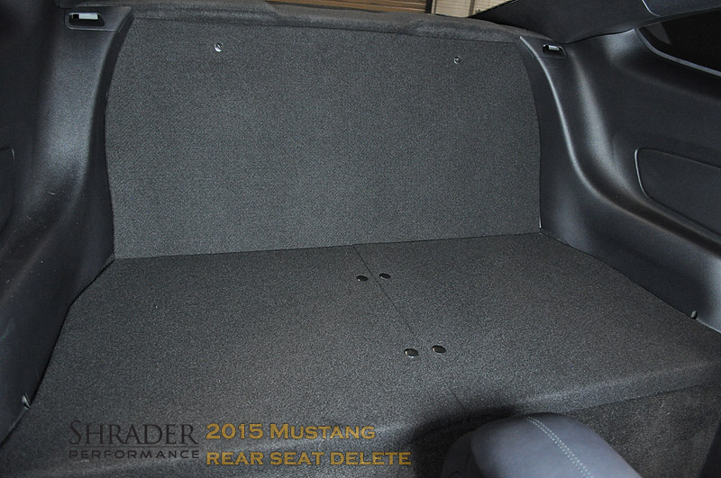 2015 18 Ford Mustang Rear Seat Delete