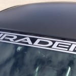 Shrader windshield banner BM2