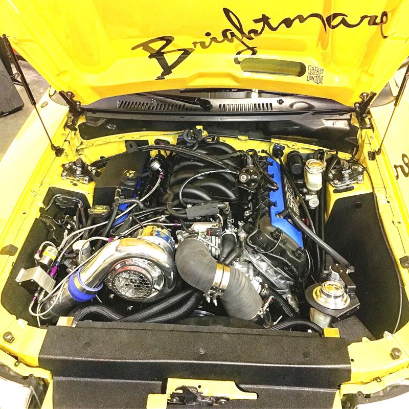 Vortech Supercharger S550 Mustang: Brightmare Mustang, Coyote Swap Vortech